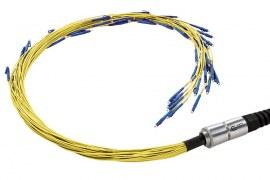 کابل فیبر نوری چگونه کار می کند؟